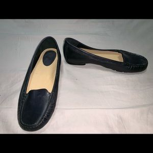 Cole Haan Loafers US 8B Moc Toe Slip-On Round Toe